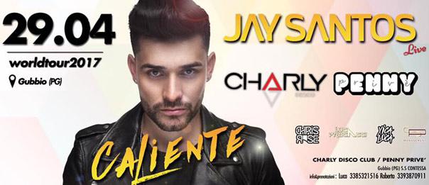Jay Santos Live al Charly Disco Club di Gubbio