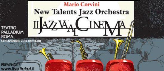 """""""I grandi del jazz raccontati dal cinema"""" al Teatro Palladium a Roma"""