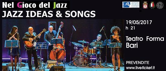 Jazz Ideas & Songs di Pietro Condorelli al Teatro Forma di Bari