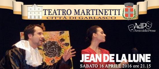 Jean de la lune al Teatro Martinetti di Garlasco