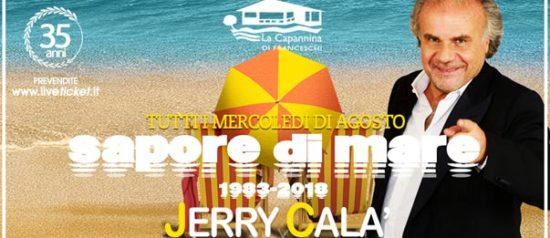 Jerry Calà - Sapore di Mare a La Capannina di Franceschi di Forte dei Marmi
