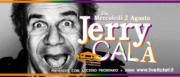 """Jerry Calà """"Una vita da Libidine"""" Concert Show alla Capannina di Forte dei Marmi"""