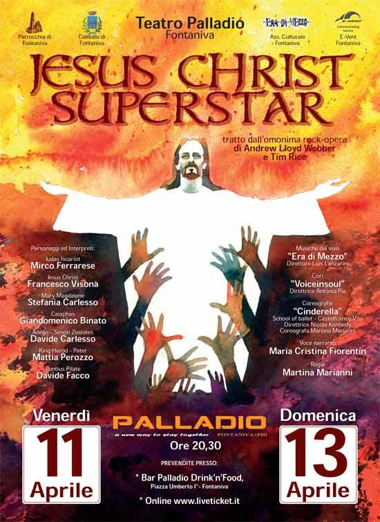 Musical Jesus Christ Superstar al Teatro Palladio di Fontaniva