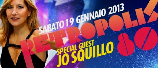 RETROPOLIS: ANNI 80! special guest Jo Squillo