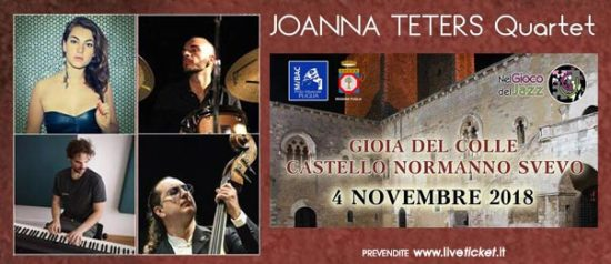 Joanna Teters Quartet al Castello Normanno - Svevo di Vibo Valentia