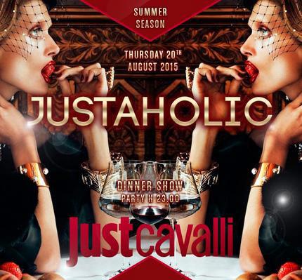 Justaholic al Just Cavalli Club di Milano
