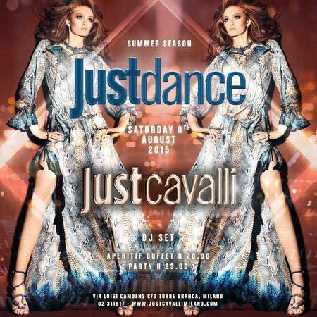 Justdance al Just Cavalli Club di Milano