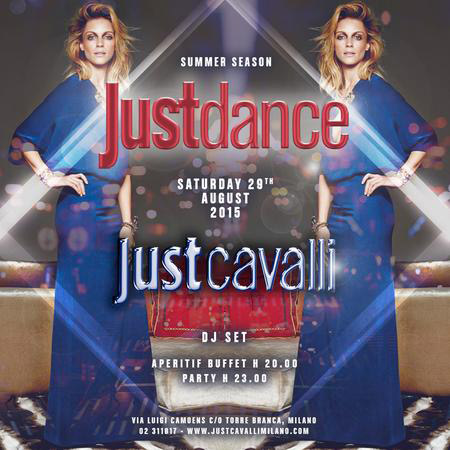 Justdance al Just Cavalli Club di Milano