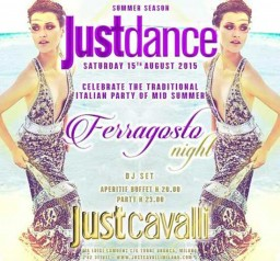 Justdance Ferragosto Night al Just Cavalli Club di Milano