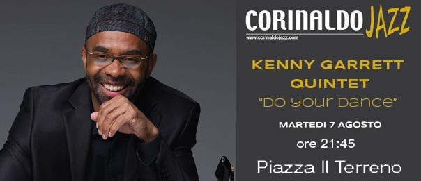 """Kenny Garrett Quintet """"Corinaldo Jazz 2018"""" in Piazza Il Terreno a Corinaldo"""