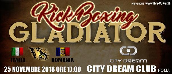 Kick Boxing Gladiator al City Dream a Roma