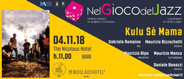 Kulu Sè Mama al The Nicolaus Hotel a Bari