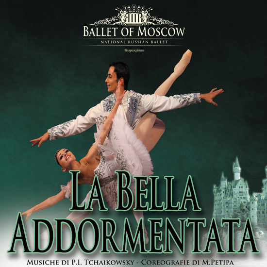 "Ballet of  Moscow ""La bella addormentata"" al Teatro Sociale di Pinerolo"