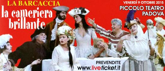 La cameriera brillante al Piccolo Teatro di Padova