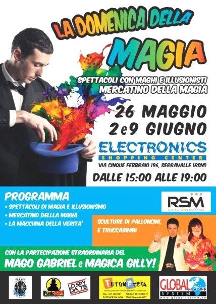 La Domenica della Magia a Serravalle San Marino