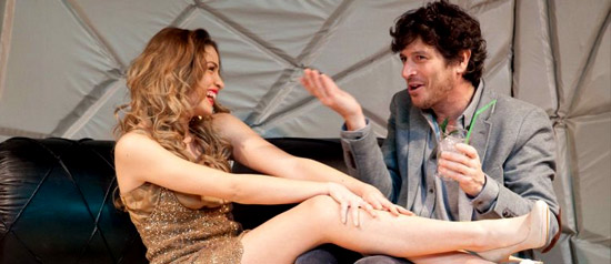 """Michele La Ginestra e Beatrice Fazi """"Ti posso spiegare"""" al Teatro Vittorio Veneto di Colleferro"""