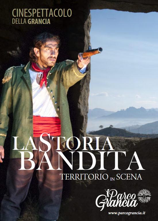 La storia bandita Cinespettacolo - Parco della Grancia 2016 a Brindisi Montagna