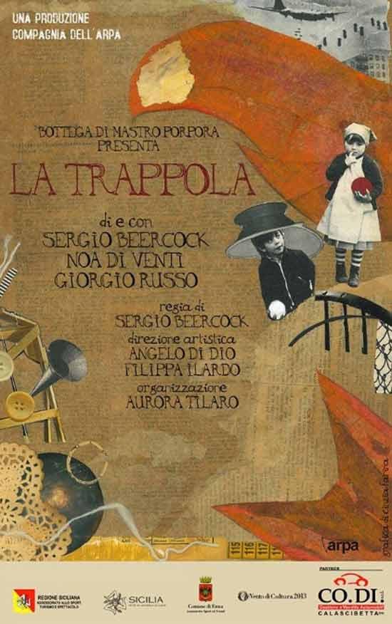 """""""La Trappola"""" al Teatro Garibaldi di Enna"""
