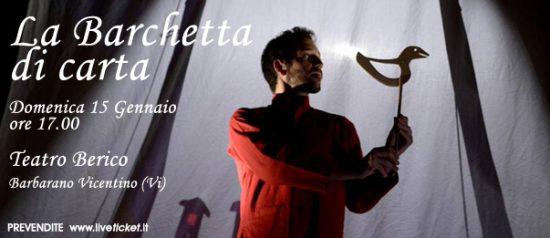 La barchetta di carta al Teatro Berico a Barbarano Vicentino