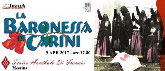 La Baronessa di Carini al Teatro Annibale di Francia a Messina