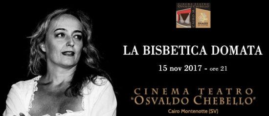 La bisbetica domata al Teatro O. Chebello di Cairo Montenotte