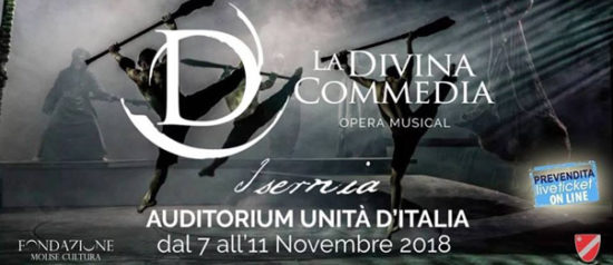 La Divina Commedia - Opera Musical all'Auditorium Unità d'Italia di Isernia