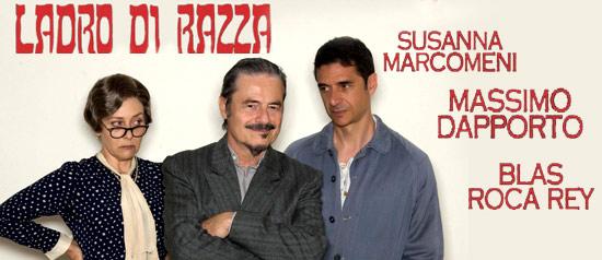 """Massimo Dapporto """"Ladro di Razza"""" al Teatro dei Cinquecento di Troina"""