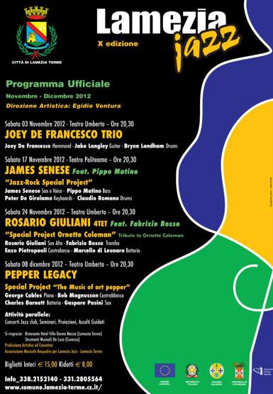 X Edizione del Lamezia Jazz Festival