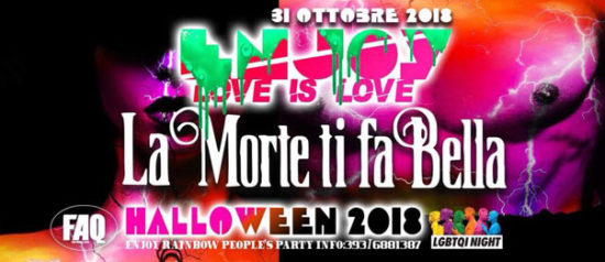 "Enjoy ""La morte ti fa bella"" Halloween party al Faq Live Music Club a Grosseto"