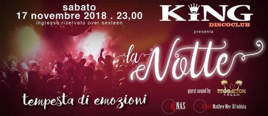 La notte al King Disco Club di Castel San Giovanni