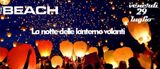 La notte delle lanterne volanti al The Beach Club a Milano
