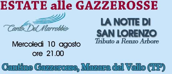 """Rassegna """"Estate alle Gazzerosse"""" a Mazara del vallo"""