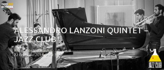Alessandro Lanzoni quintet al Ristorante Villa Giulia a San Biagio