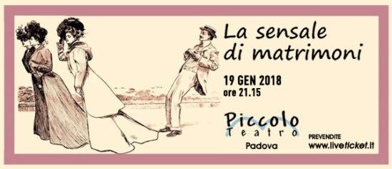La sensale di matrimoni al Piccolo Teatro di Padova