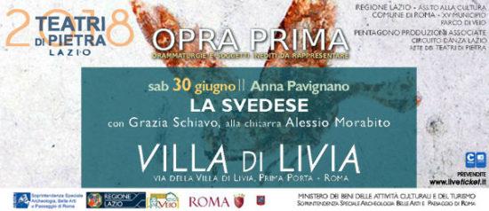 La Svedese a Villa di Livia a Roma