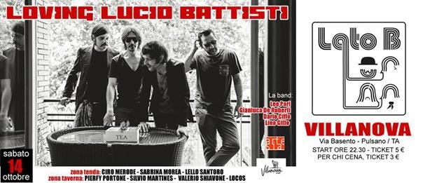 Lato B in concerto - il canzoniere di Lucio Battisti live al Villanova di Pulsano