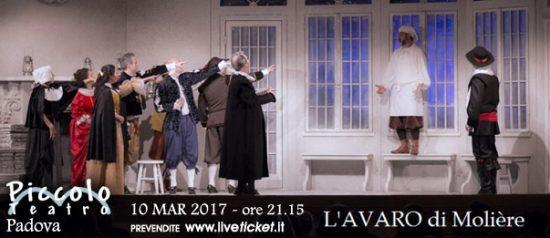 L'Avaro al Piccolo Teatro di Padova