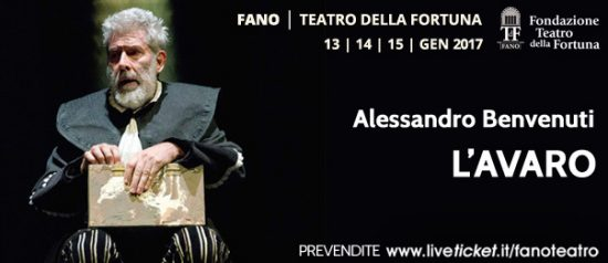 L'Avaro al Teatro Della Fortuna a Fano