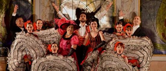 """Compagnia Italiana di Operette """"La vedova allegra"""" al Teatro Comunale di Treia"""