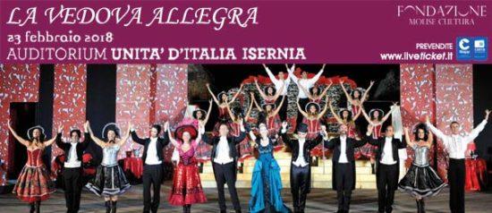 La vedova allegra all'Auditorium Unità d'Italia di Isernia