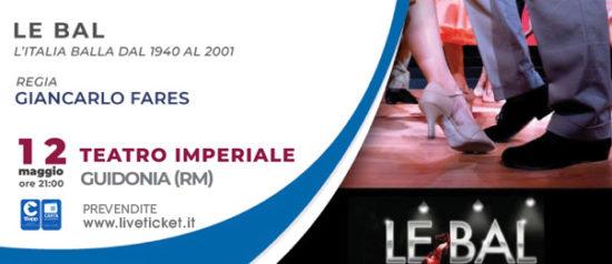 Le Bal al Teatro Imperiale di Guidonia