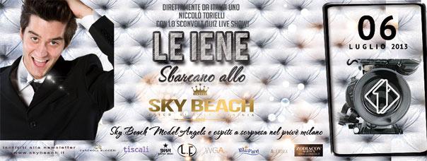 Le Iene sbarcano allo Sky Beach Sardinia