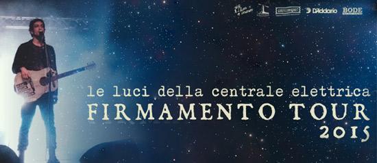 """""""le luci della centrale elettrica"""" - live firmamento tour 2015"""