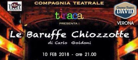 Le baruffe chiozzotte al Teatro David di Verona