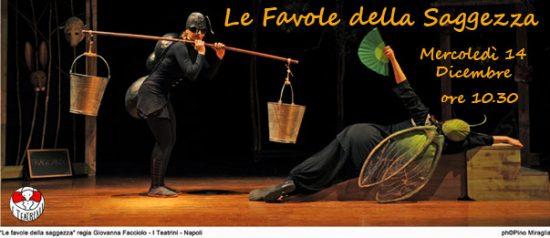 Le favole della saggezza al Teatro Grandinetti di Lamezia Terme