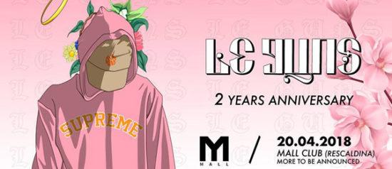 Le Guns - 2 Years anniversary party al Mall Club di Rescaldina
