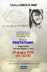 Le nuvole di Faber live a Roma