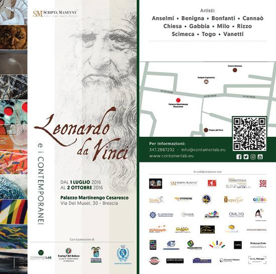 """""""Leonardo Da Vinci e i contemporanei"""" a Palazzo Martinengo Cesaresco a Brescia"""