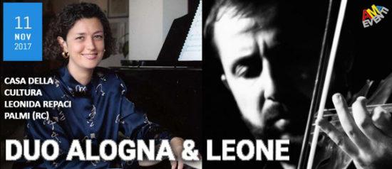Duo Alogna & Leone alla Casa della Cultura di Palmi