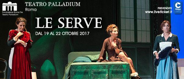 Le serve al Teatro Palladium a Roma